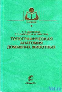 Топографическая анатомия домашних животных - Дмитриева Г. А.